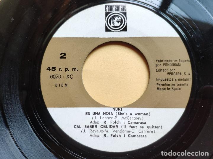 Discos de vinilo: NURI - EP Spain PS - EX+ * SHOW YE YE * ELL / ES UNA DONA ( BEATLES COVER ) + 2 * CON HOJA INTERIOR - Foto 6 - 198364383