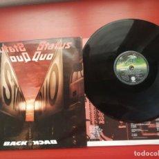 Discos de vinilo: LP - STATUS QUO - BACK TO BACK (SPAIN, VERTIGO RECORDS 1983). Lote 198366258