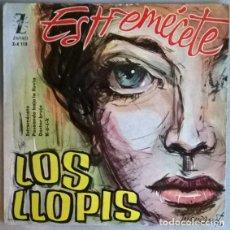Discos de vinilo: LOS LLOPIS. ESTREMÉCETE/ PASEANDO BAJO LA LLUVIA/ DR. BRUJO/ R-O.C-K. ZAFIRO, SPAIN 1960 EP. Lote 198373147