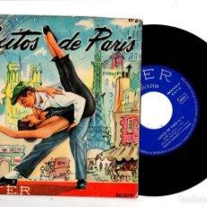 Discos de vinilo: SINGLE EXITOS DE PARIS Nº 3. BELTER. Lote 198388531