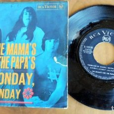 Discos de vinilo: DISCO SINGLE - THE MAMA'S & THE PAPA'S - MONDAY, MONDAY. Lote 198391887