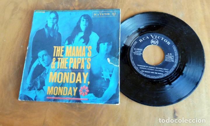 Discos de vinilo: DISCO SINGLE - THE MAMAS & THE PAPAS - MONDAY, MONDAY - Foto 2 - 198391887