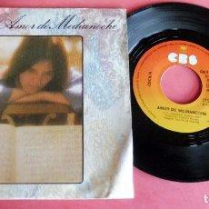 Discos de vinilo: DISCO SINGLE - CECILIA - AMOR DE MEDIANOCHE - CBS. Lote 198392583