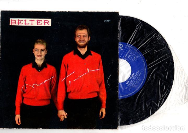 SINGLE NINA Y FREDERICK. BELTER (Música - Discos - Singles Vinilo - Cantautores Internacionales)