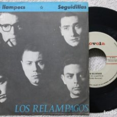 Discos de vinilo: LOS RELAMPAGOS NIT DE LLAMPECS SEGUIDILLAS SINGLE VINYL MADE IN SPAIN 1965. Lote 198396211