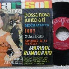 Discos de vinilo: MARISOL BSO RUMBO A RIO EP VINYL MADE IN SPAIN 1963. Lote 198397847