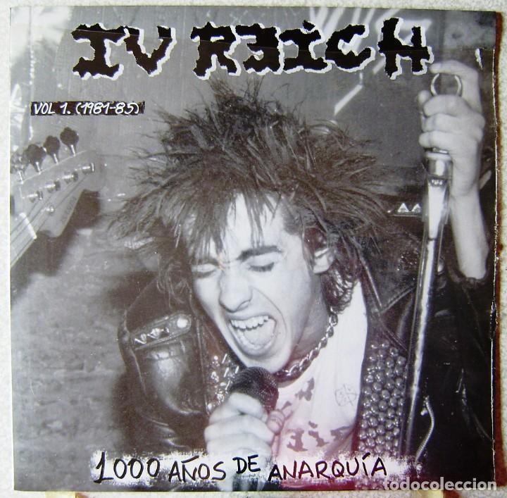 IV REICH.1000 AÑOS DE ANARQUIA...PUNK ARAGON..PRECINTADO...NO OFERTAS (Música - Discos - LP Vinilo - Punk - Hard Core)