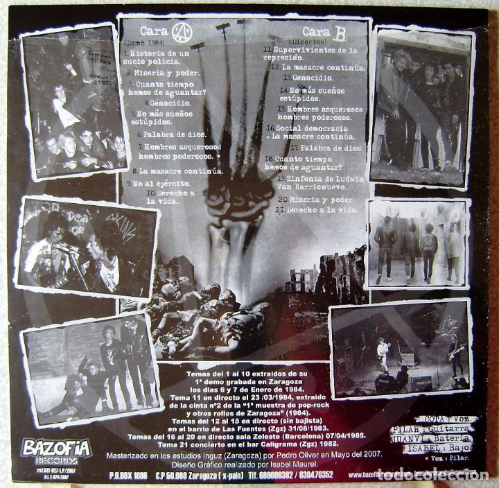 Discos de vinilo: IV REICH.1000 AÑOS DE ANARQUIA...PUNK ARAGON..PRECINTADO...NO OFERTAS - Foto 2 - 220253967