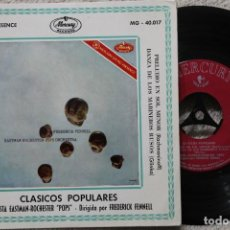 Discos de vinilo: CLASICOS POPULARES ORQUESTA EASTMAN-ROCHESTER FREDERICK FENNELL EP VINYL MADE IN SPAIN 1960. Lote 198399611