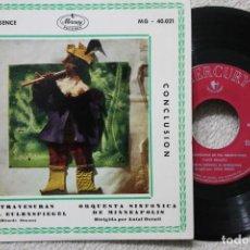 Discos de vinilo: LAS TRAVESURAS DE TILL EULENSPIEGEL SINGLE VINYL MADE IN SPAIN 1960. Lote 198399745