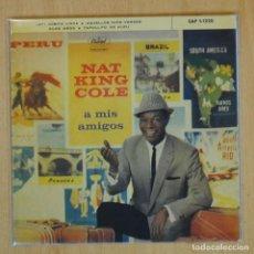 Discos de vinilo: NAT KING COLE - AY COSITA LINDA + 3 - EP. Lote 198402287