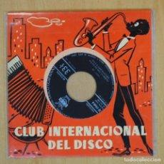 Discos de vinilo: RED NORVO / BUCK CLAYTON / JACK TEAGARDEN / REX STEWART - SLAM SLAM BLUES - EP. Lote 198402412