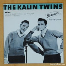 Dischi in vinile: THE KALIN TWINS - WHEN + 3 - EP. Lote 198402520