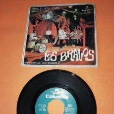 Discos de vinilo: LOS BRAVOS. BRING A LITTLE LOVIN. COLUMBIA RECPRDS 1967 . Lote 198402591