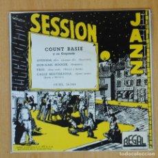 Discos de vinilo: COUNT BASIE - AVENIDA + 3 - EP. Lote 198402672