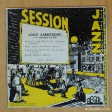 Discos de vinilo: LOUIS ARMSTRONG - FUEGOS ARTIFICIALES + 3 - EP. Lote 198402677