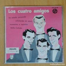 Disques de vinyle: LOS CUATRO AMIGOS - HE ESTADO PENSANDO + 3 - EP. Lote 198402806