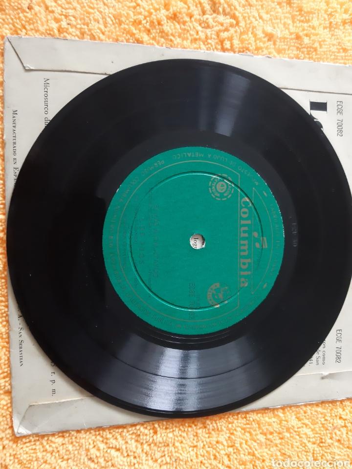 Discos de vinilo: EP. Los XEY. COLUMBIA . 1947? SI VAS A CALATAYUD, LOS FEOS, CLAVALITOS MADRILEÑOS, +1. - Foto 3 - 198407721