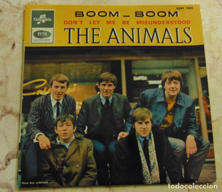 THE ANIMALS – BOOM - BOOM + 3 - EP 1965 (Música - Discos de Vinilo - EPs - Pop - Rock Extranjero de los 50 y 60)