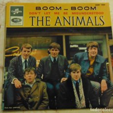 Dischi in vinile: THE ANIMALS – BOOM - BOOM + 3 - EP 1965. Lote 198412546