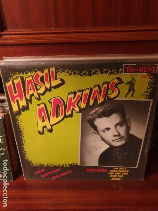 HASIL ADKINS / HE SAID / BIG BEAT 1985 (Música - Discos - LP Vinilo - Rock & Roll)