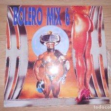 Discos de vinilo: BOLERO MIX 6 - QUIQUE TEJADA - BLANCO Y NEGRO 1990. Lote 198416541