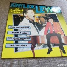 Discos de vinilo: JERRY LEE LEWIS-20 GREATEST HITS. LP. Lote 198417511