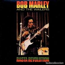 Discos de vinilo: LP BOB MARLEY AND THE WAILERS RASTA REVOLUTION VINILO REEDICION. Lote 13402119