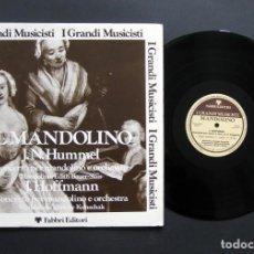 Discos de vinilo: J. N. HUMMEL / J.HOFFMANN – IL MANDOLINO. Lote 198427242
