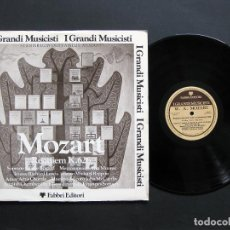 Discos de vinilo: WOLFGANG AMADEUS MOZART – REQUIEM K. 626. Lote 198427371