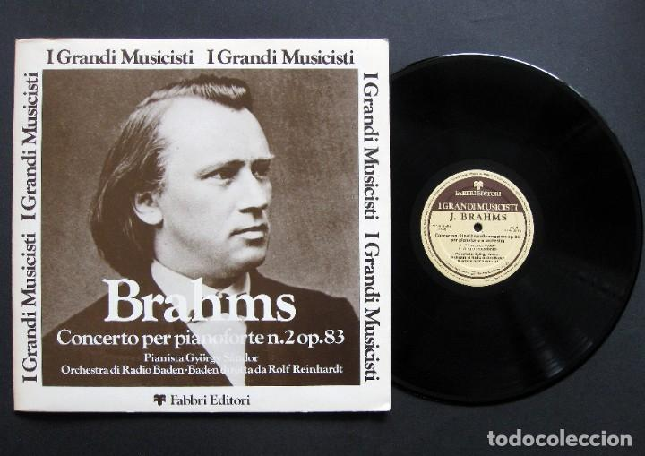 BRAHMS – CONCERTO PER PIANOFORTE N. 2 OP. 83 (Música - Discos de Vinilo - Maxi Singles - Clásica, Ópera, Zarzuela y Marchas)