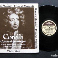 Discos de vinilo: CORELLI – CONCERTI GROSSI OP. 6. Lote 198430058