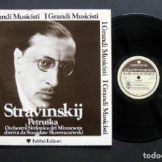 Discos de vinilo: IGOR STRAVINSKY – PETRUSKA. Lote 198431355