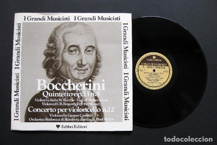 LUIGI BOCCHERINI – QUINTETTO OP.13 N.5 / CONCERTO PER VIOLONCELLO N.12 (Música - Discos de Vinilo - Maxi Singles - Clásica, Ópera, Zarzuela y Marchas)