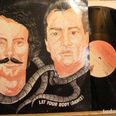 Discos de vinilo: LATF LET YOUR BODY ( DANCE ) BRAVO / 1984 VICTORIA MAXI SINGLE PROMOCIONAL. Lote 198464848