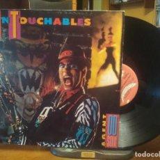 Discos de vinilo: UNTOUCHABLES AGENT 00 SOUL LP SPAIN 1989 PDELUXE. Lote 198465145