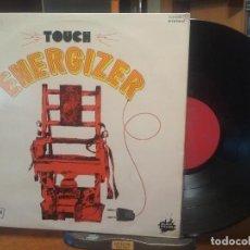 Discos de vinilo: TOUCH ENERGIZER LP SPAIN 1977 PDELUXE. Lote 198465410