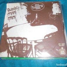Discos de vinilo: MARI TRINI. QUIZAS / VENTANAS. HISPAVOX, 1972. PROMOCIONAL. IMPECABLE. Lote 198469213