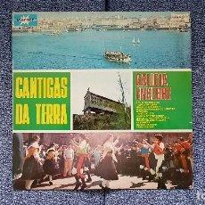 Discos de vinilo: CANTIGAS DA TERRA - GALICIA ENXEBRE. L.P. EDITADO POR MARFER. AÑO 1.976. Lote 198474695