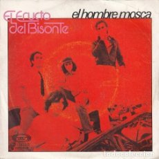 Disques de vinyle: EL ERUCTO DEL BISONTE - EL HOMBRE MOSCA - SINGLE DE VINILO - ROCK PROGRESIVO DE CANARIAS 1979 #. Lote 198475677