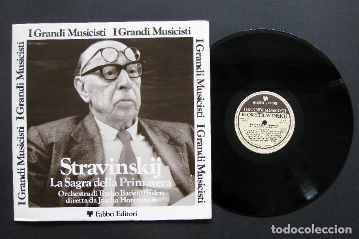STRAVINSKI - ORCHESTRA DI RADIO BADEN-BADEN / DIRETTA JASCHA HORENSTEIN ?– LA SAGRA DELLA PRIMAVERA (Música - Discos de Vinilo - Maxi Singles - Clásica, Ópera, Zarzuela y Marchas)