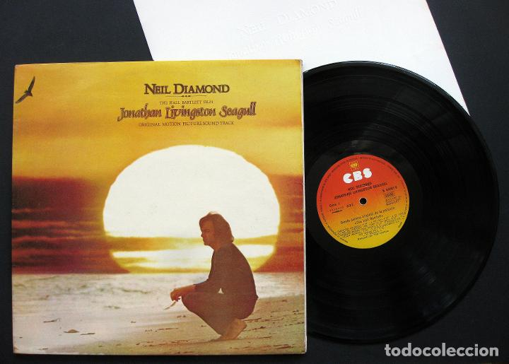 NEIL DIAMOND ?– JONATHAN LIVINGSTON SEAGULL (ORIGINAL MOTION PICTURE SOUND TRACK) – VINILO (Música - Discos de Vinilo - Maxi Singles - Pop - Rock Internacional de los 70)