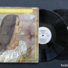 Discos de vinilo: JOAN BAEZ ?– EL CANCIONERO FOLKLORICO DE JOAN BAEZ – VINILO 1973. Lote 198480343