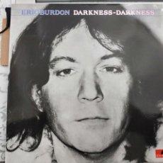 Discos de vinilo: ERIC BURDON - DARKNESS-DARKNESS (LP, ALBUM, RE) SELLO:POLYDOR 424 580-1,1989. NUEVO A ESTRENAR. Lote 198482931