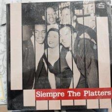Discos de vinilo: THE PLATTERS - SIEMPRE THE PLATTERS (LP, COMP) MERCURY 424 577-1, 1989. SELLADO. SIN ABRIR. NUEVO. Lote 198483237