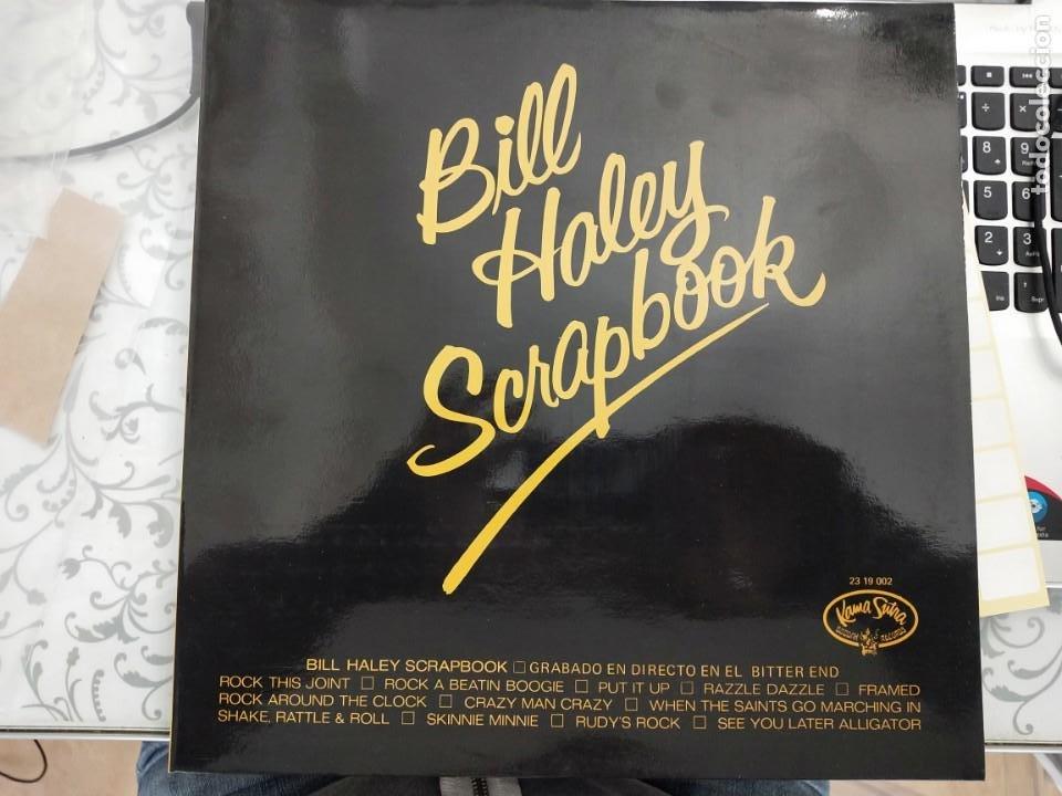 BILL HALEY & THE COMETS* - BILL HALEY SCRAPBOOK (LP,) KAMA SUTRA 23 19 002. 1970. NUEVO A ESTRENAR (Música - Discos - LP Vinilo - Rock & Roll)