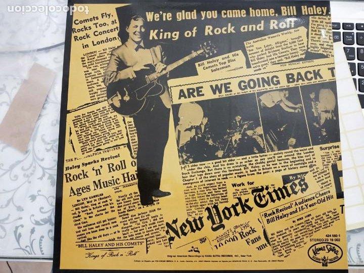 Discos de vinilo: Bill Haley & The Comets* - Bill Haley Scrapbook (LP,) Kama Sutra 23 19 002. 1970. NUEVO A ESTRENAR - Foto 2 - 198484722