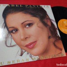 Discos de vinilo: ISABEL PANTOJA TU SERAS MI NAVIDAD (VERSION MAXI)/SINGLE/INSTR. 12'' MX 1987 JUAN GABRIEL AGUSTIN. Lote 198486316