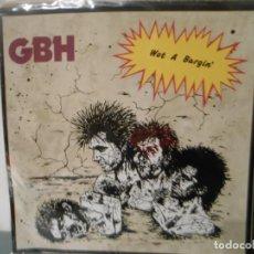 Discos de vinilo: GBH - WOT A BARGIN - TEST PRESSING. Lote 198487833