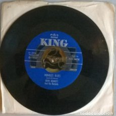 Discos de vinilo: BOYD BENNETT & HIS ROCKETS. MUMBLES BLUES/ BLUE SUEDE SHOES. KING, USA 1956 SINGLE . Lote 198489368